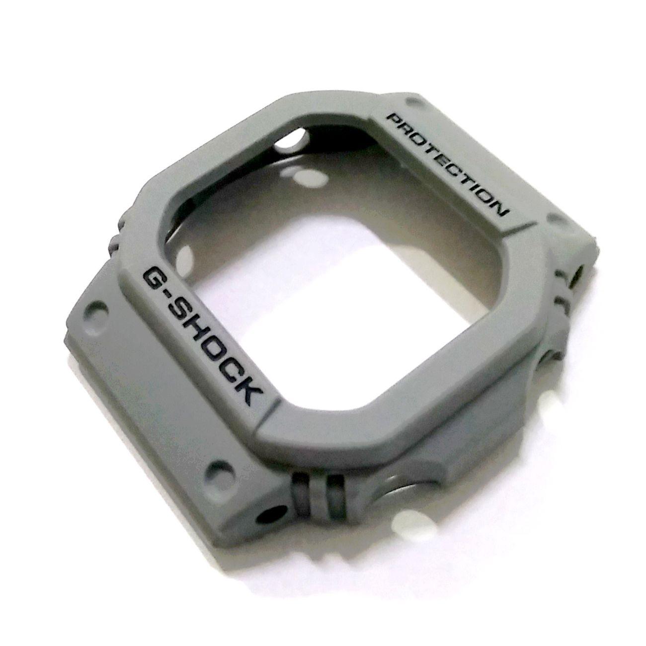 Bezel Capa G-shock Original DW-D5600P-8 Resina cinza  - E-Presentes