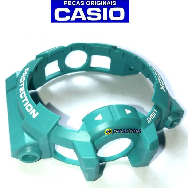 Bezel (Capa ) GA-400A-2A Casio G-Shock  Verde Esmeralda  - E-Presentes