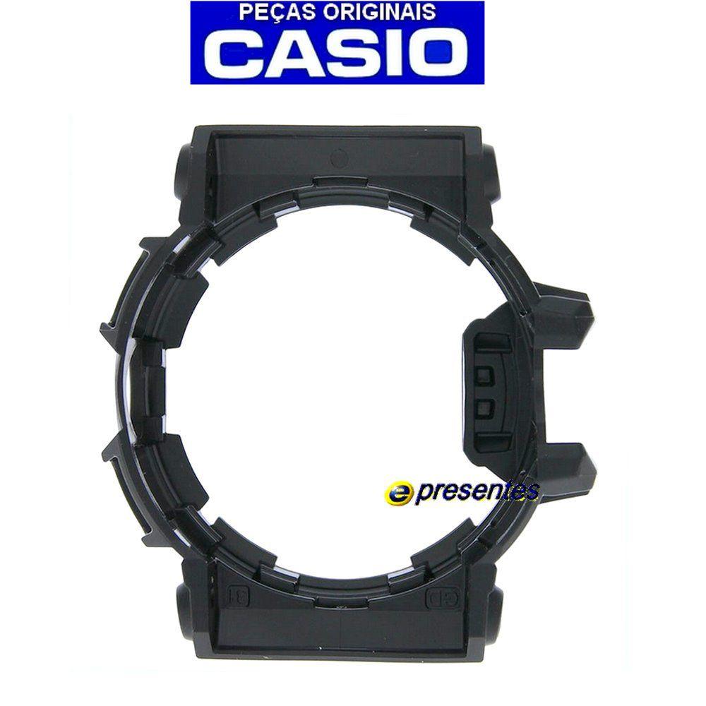 Bezel Capa GBA-400-1A9 Preto Brilhante Casio G-shock - Peça Original   - E-Presentes