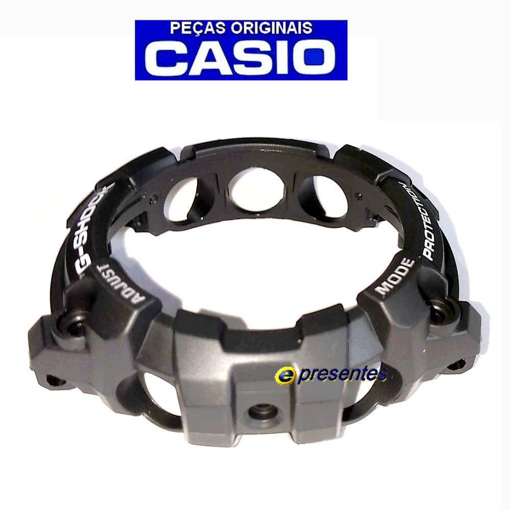 Bezel Capa GG-1000-1A8, GG-1000-1A3 Casio G-shock Preto Fosco - 100% Original   - E-Presentes
