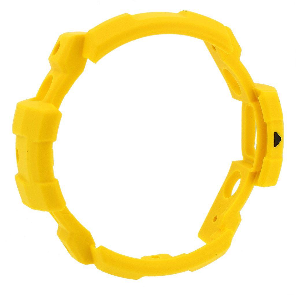 Bezel (Capa) GN-1000-9a Casio G-shock Resina Amarela *  - E-Presentes