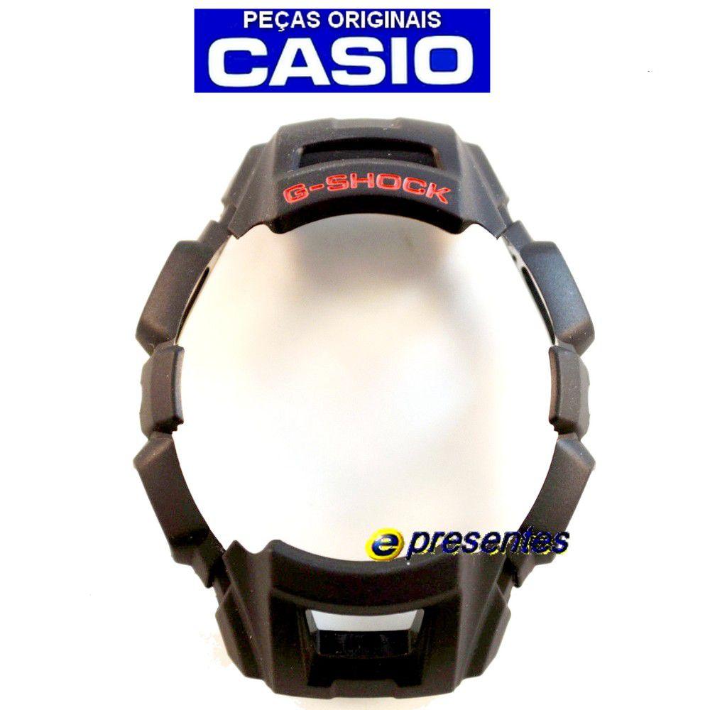 Bezel Capa Gw-300 GW-301 Preto Casio G-shock - 100%  Original  - E-Presentes