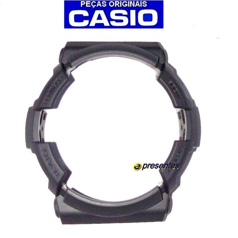 Bezel Capa Moldura Casio G-shock GA-201-1A , GAS-100B-1A , GAW-100B-1A  - E-Presentes