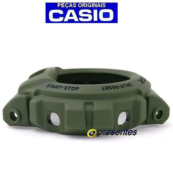 Bezel Capa Original Casio G-shock Verde G-6900 GW-6900kg-3  - E-Presentes