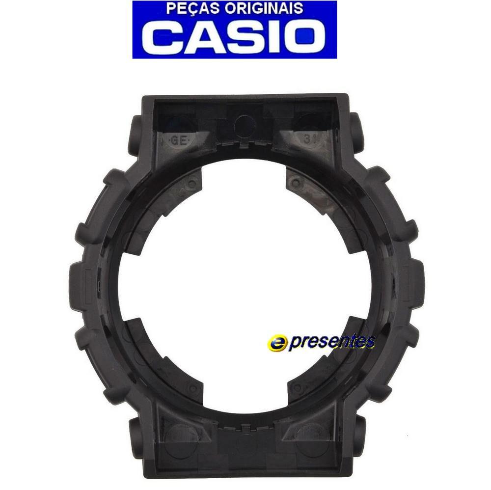 Bezel Casio G-shock 100% original GA-100BW-1A GA-110BW-1A   - E-Presentes