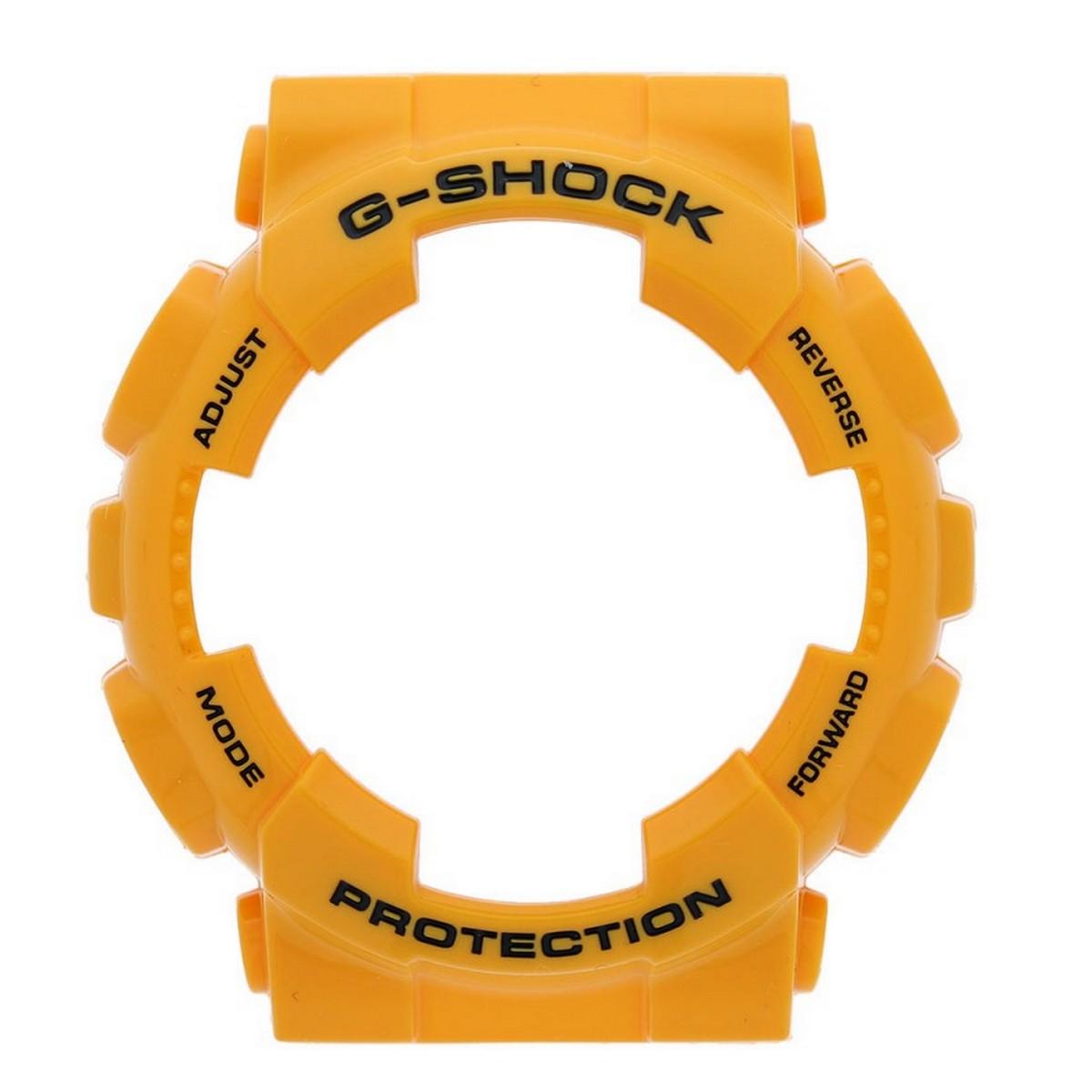 Bezel Casio G-shock Amarelo GA-100A-9A *  - E-Presentes
