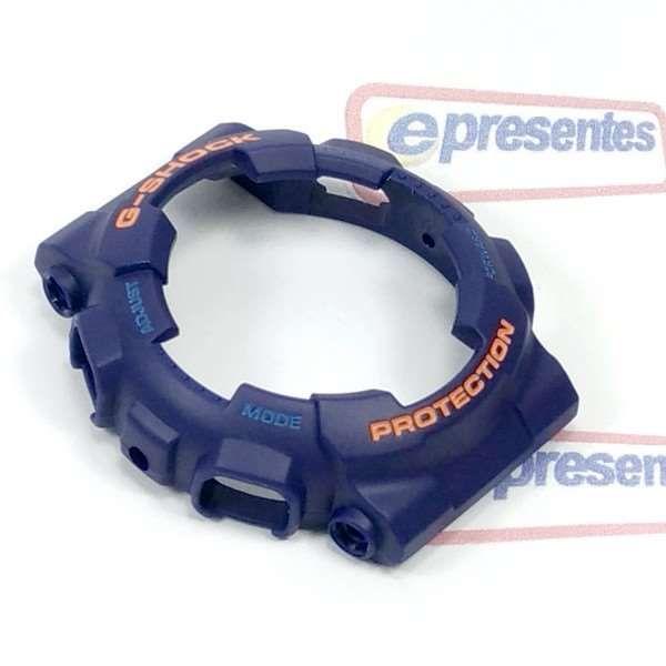 Bezel Casio G-Shock AZUL GA-110FC GAC-100AC - 10400925- 100% Original  - E-Presentes