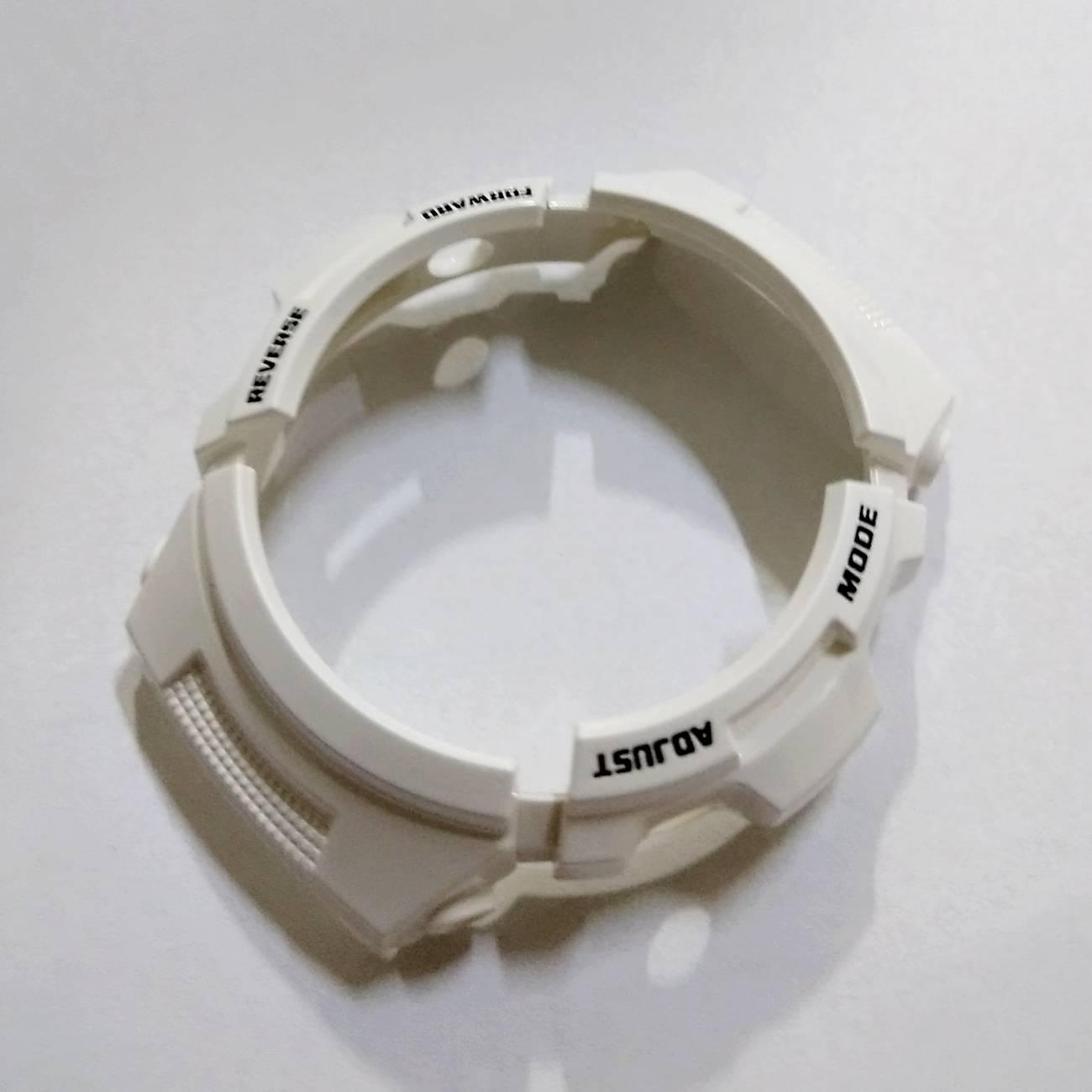 Bezel Casio G-shock Branco Aw-591SC-7 Peças Originais  - E-Presentes