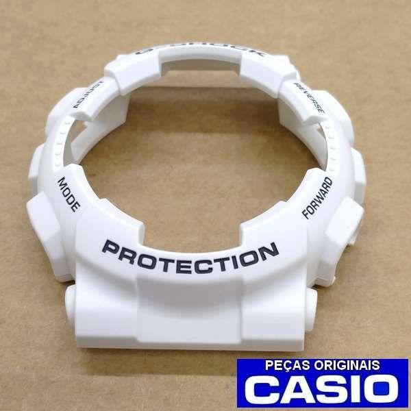 Bezel Casio G-shock Branco Fosco Ga-100B-7A   - Alexandre Venturini