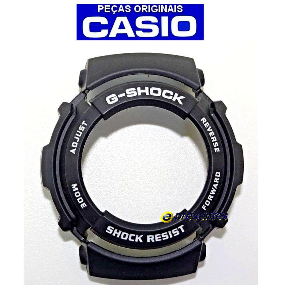 Bezel Casio G-Shock G-301 G-304 + 2 Baterias + Anel Vedação Traseiro  - E-Presentes
