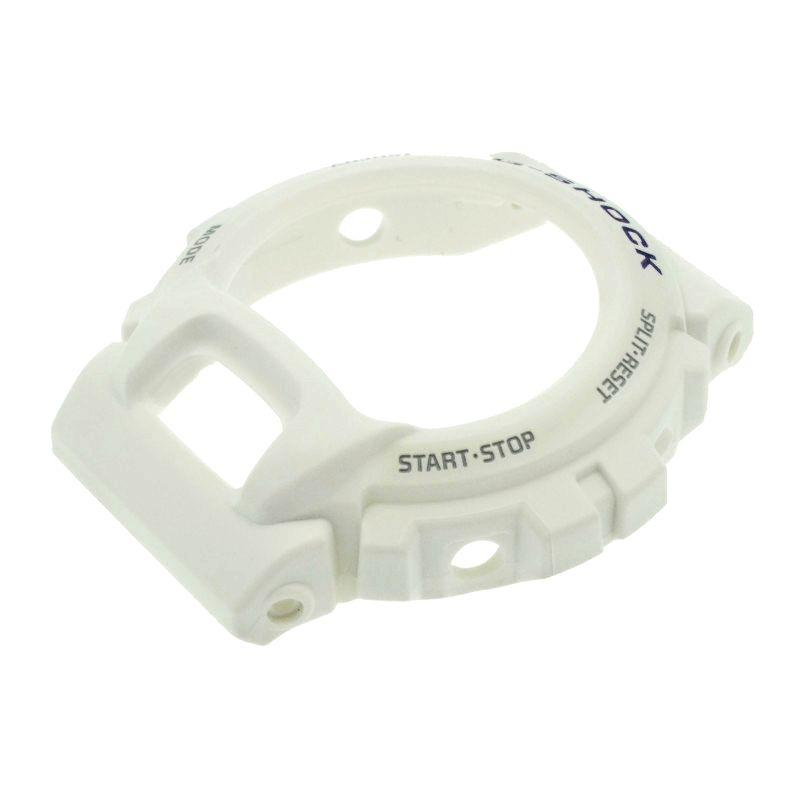 Bezel Casio G-shock G-6900A-7 GW-6900A-7 Branco Fosco *  - E-Presentes