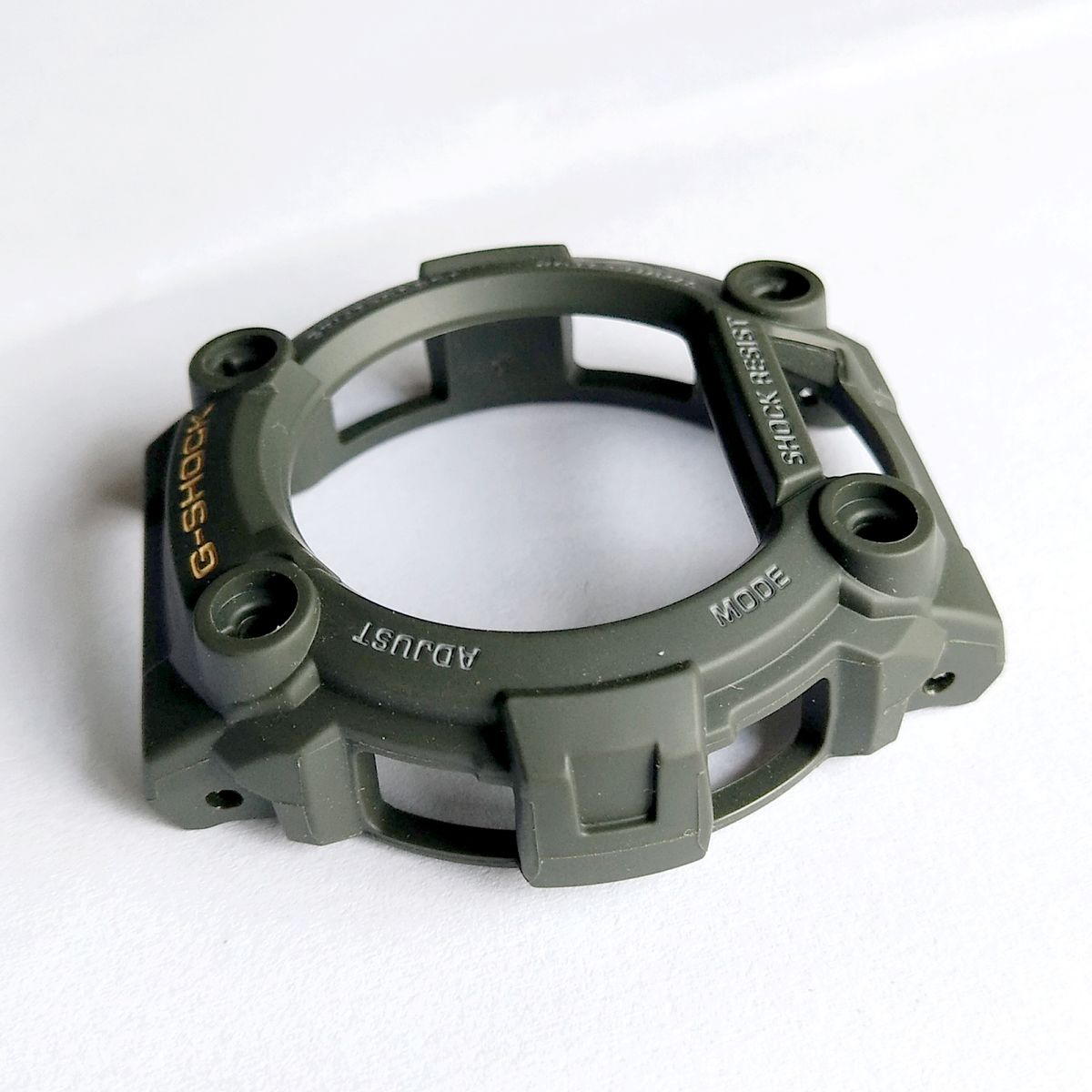 Bezel CAsio G-Shock G-7900 VErde + 4 parafuso do Bezel  - E-Presentes
