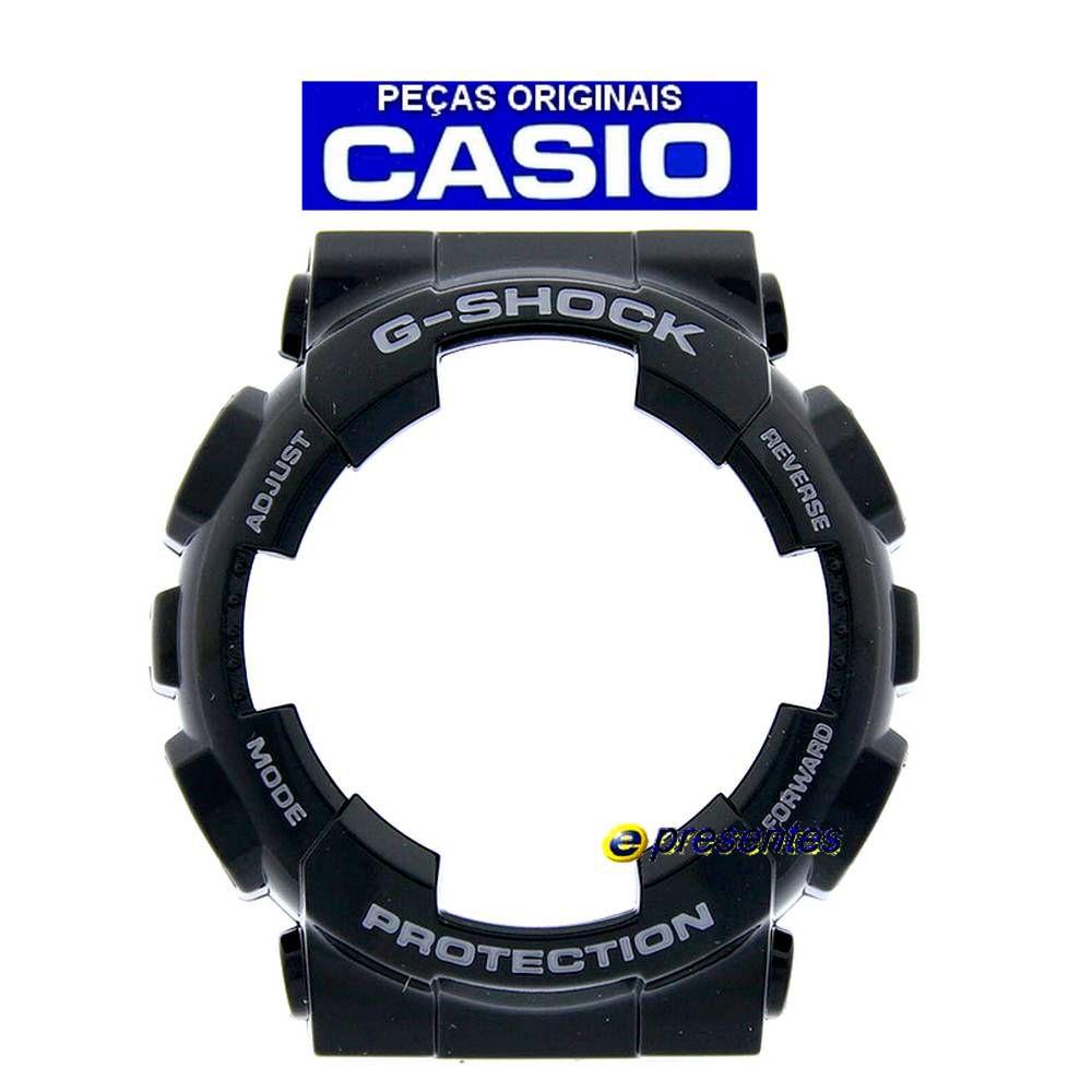 Bezel Casio G-shock GA-110B-1A2 GA-110B-1A3  GA-110MMC-1A  GA-110SLA-1A Preto verniz  - E-Presentes