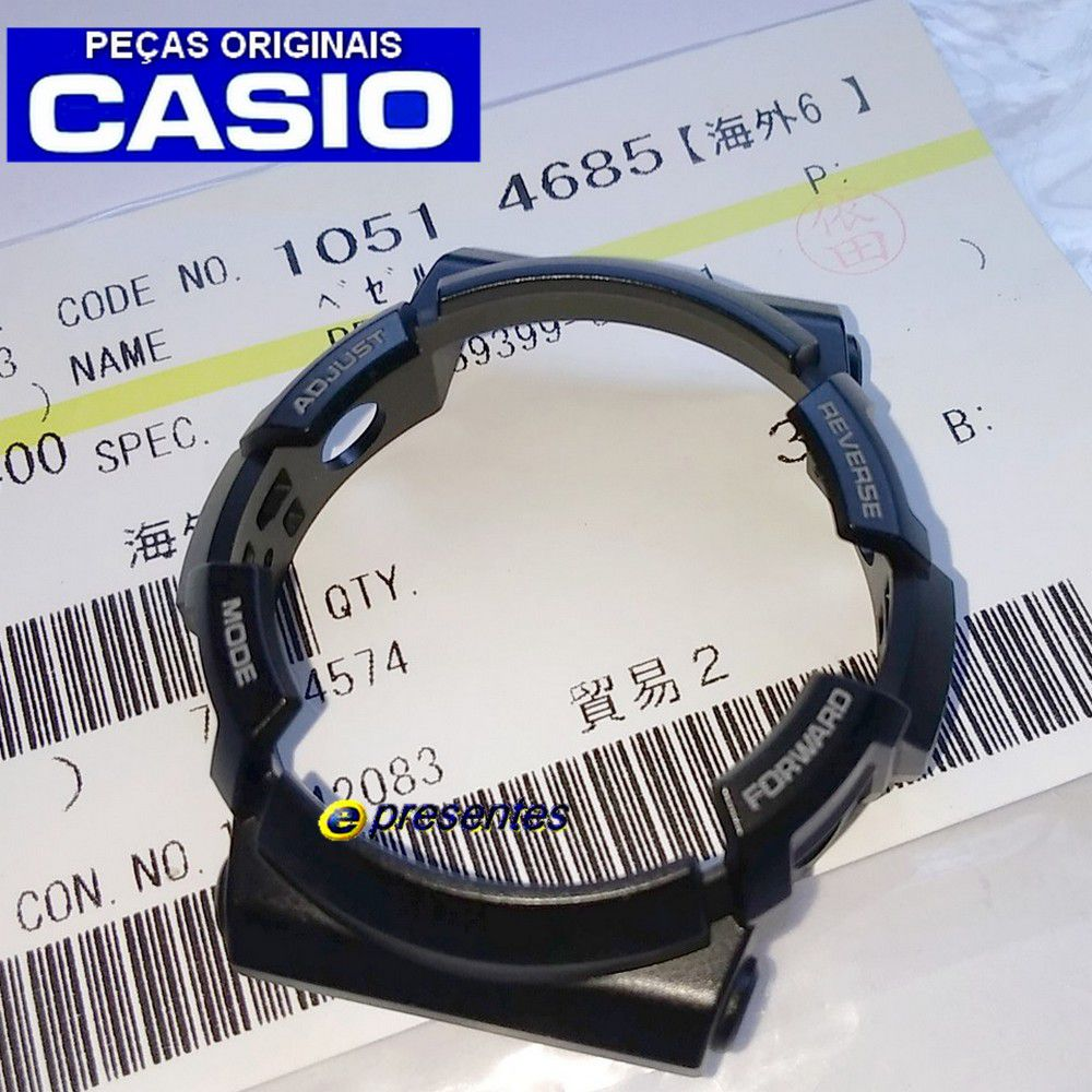 Bezel Casio G-shock Ga-200CB-1A SEMI BRILHANTE - 100% Original  - E-Presentes