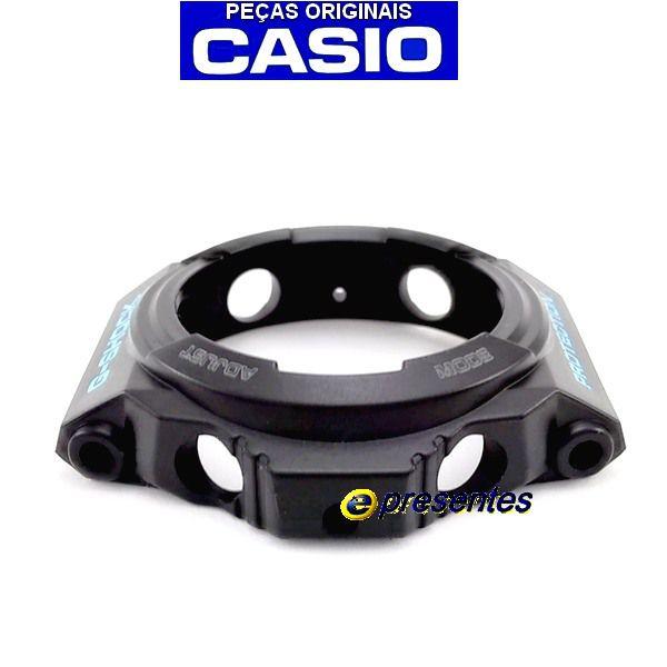 Bezel Casio G-shock Ga-300BA-1a Preto semi-brilhante *  - E-Presentes