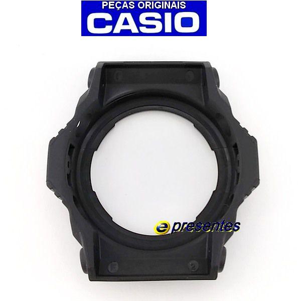 Bezel Casio G-shock Ga-300BA-1a Preto semi-brilhante  - E-Presentes