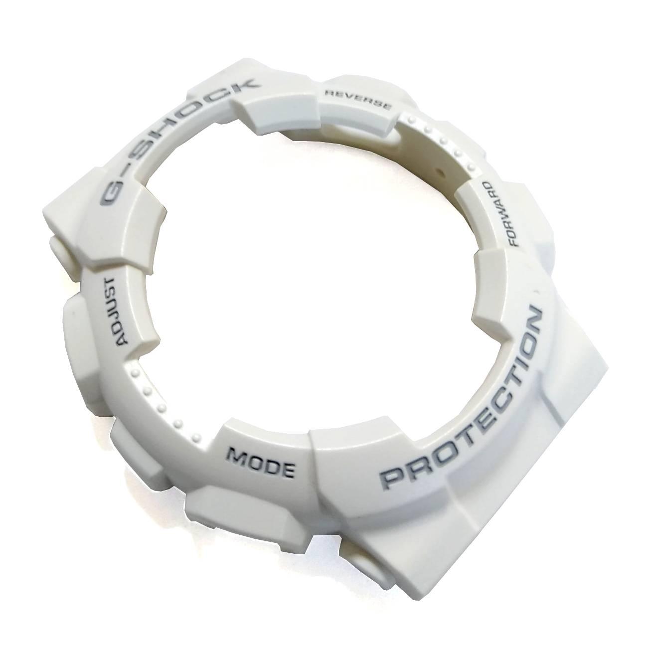 Bezel Casio G-shock GAX-100A-7 Branco Fosco Original  - E-Presentes