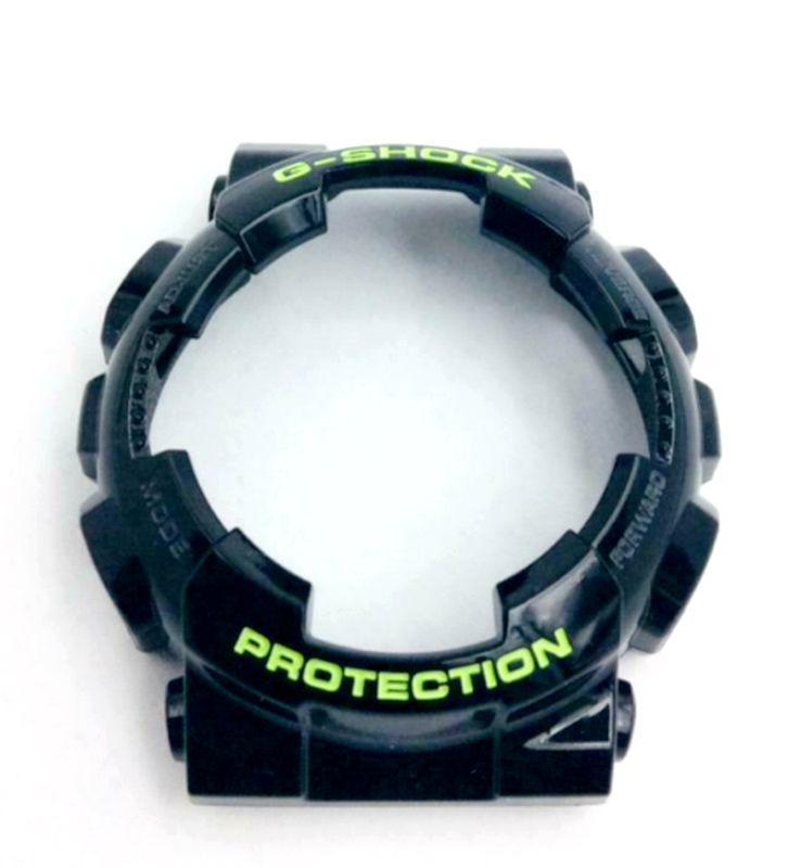 Bezel Casio G-shock  GD-100sc-1 Preto Brilhante  - E-Presentes