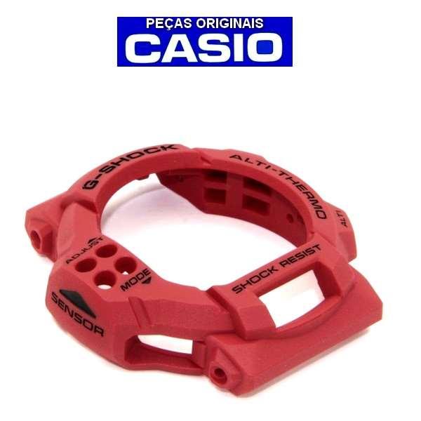 Bezel Casio G-shock GDF-100-4 VERMELHO - 100% Original   - E-Presentes