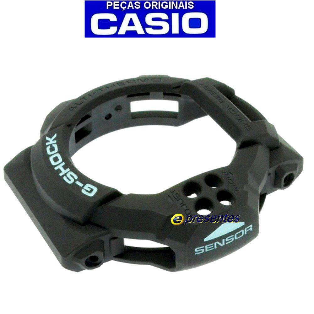 Bezel Casio G-shock GDF-100btn Preto - 100% Original   - E-Presentes