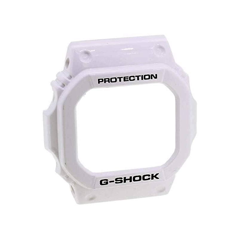 Bezel Casio G-Shock GLS-5600V-7GLX-5600-7  G-lide Branco Verniz  - E-Presentes