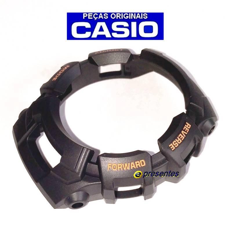 Bezel Casio G-shock GW-2310FB-1B4  G-2110, G-2300, G-2310, GW-2320 Preto Fosco  - E-Presentes