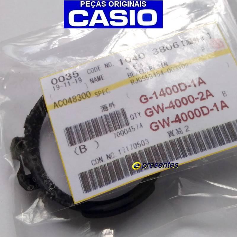 Bezel Casio G-shock GW-4000-2A, G-1400D-1A, GW-4000D-1A  - E-Presentes