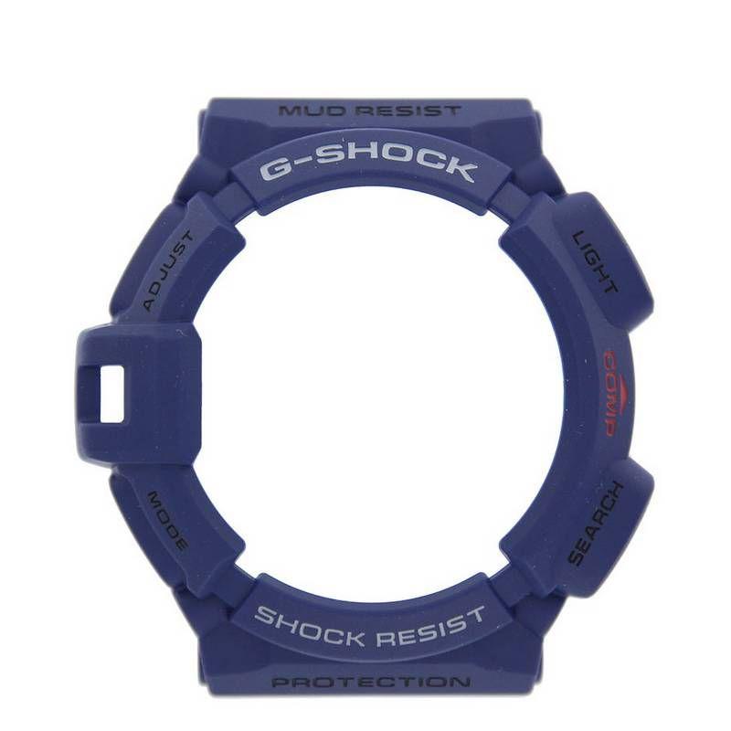 Bezel Casio G-shock Mudman Azul  G-9300nv-2 - Peças Originais *  - E-Presentes