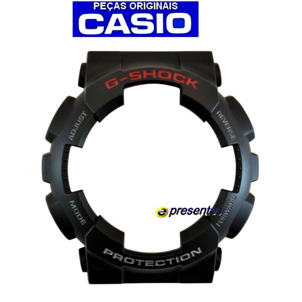 Pulseira e Bezel GA-110-1A Casio G-shock Preto Fosco   - E-Presentes