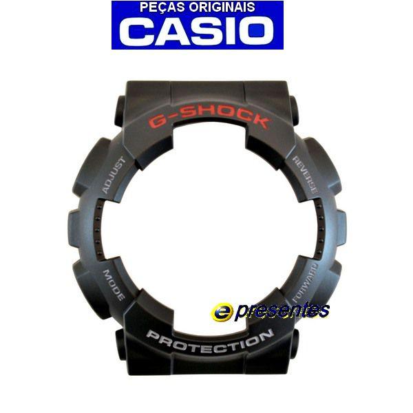 Bezel Casio G-shock Preto Fosco GD-100-1A - Peça 100% Original  - E-Presentes