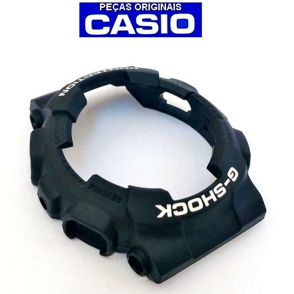 Bezel Casio G-shock Preto Fosco GD-100BW-1 - 100% Original  - E-Presentes