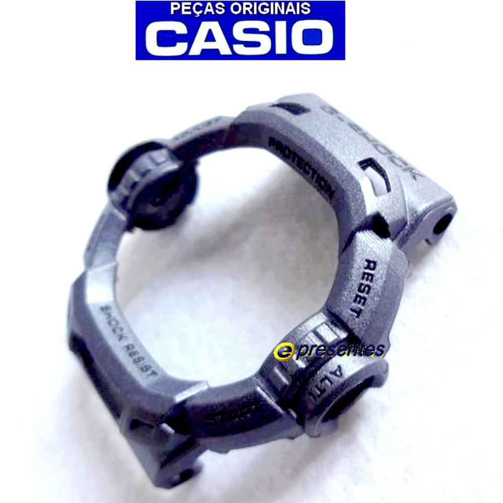 Bezel Casio G-shock Riseman G-9200MS-8 GW-9200MSJ-8 - 100%original  - E-Presentes