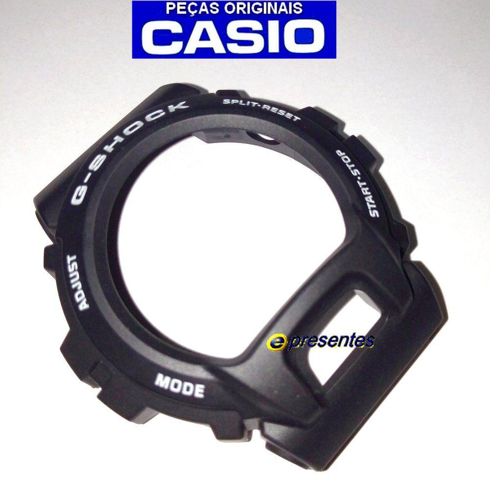 Bezel Casio GD-X6900-7 G-shock Preto Fosco - Peça Original  - E-Presentes