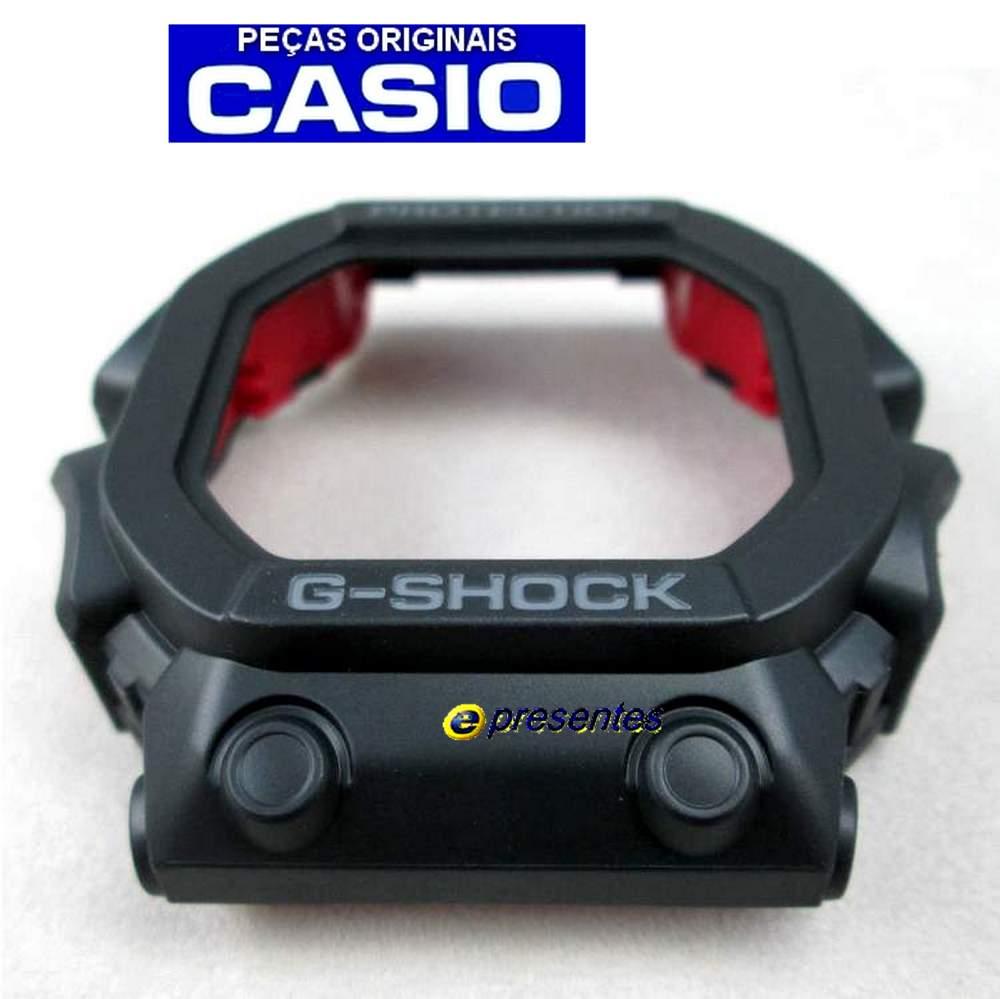 Bezel Casio GX-56-1A, GX-W56-1A G-shock Preto Fosco 100% Original  - E-Presentes