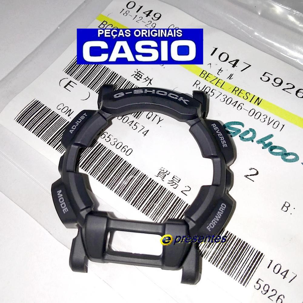 Bezel Cinza Escuro GD-400-9 Casio G-Shock - Peça 100% Original  - E-Presentes