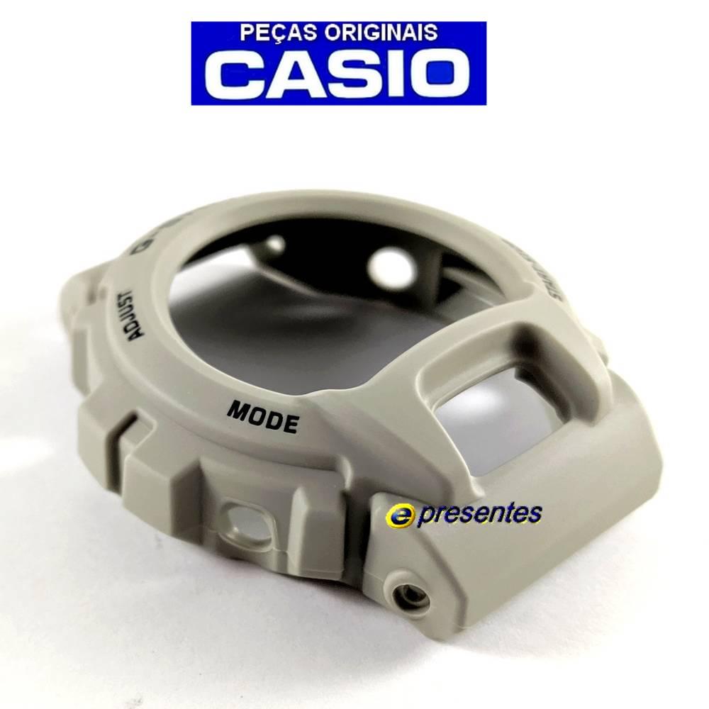 Bezel DW-6900SD-8 BEGE FOSCO Casio G-Shock  - E-Presentes