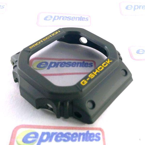 Bezel G-5600A-3 e GW-M5600A-3 Verde Casio G-shock - Peça Original *  - E-Presentes