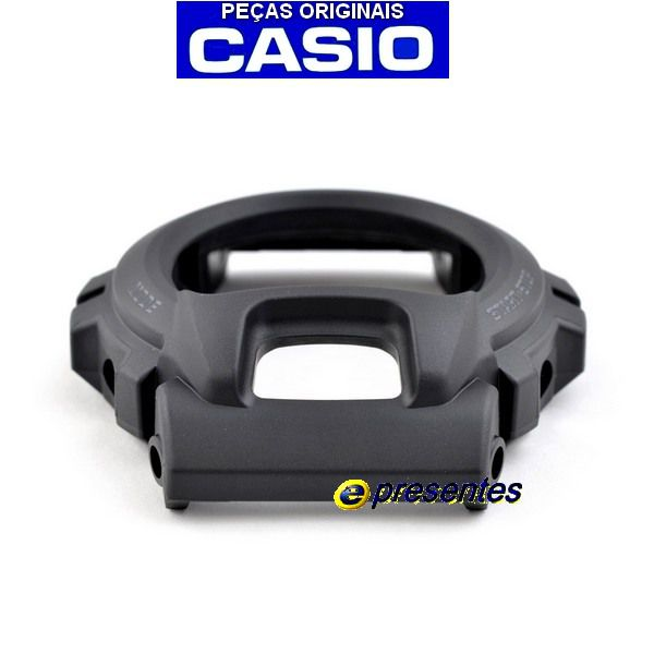 Bezel G-6900-1 GW-6900-1 Casio G-shock Preto fosco - E-Presentes