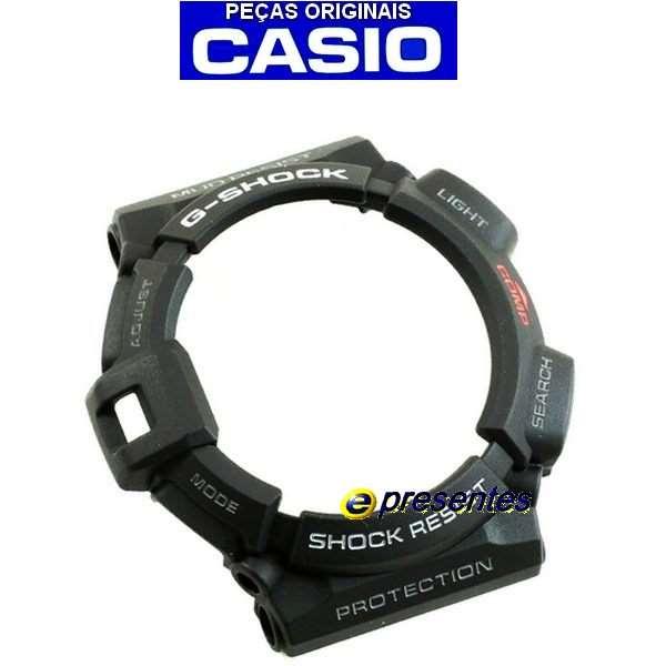 Bezel G-shock Mudman G-9300-1 - Peças Originais  - E-Presentes
