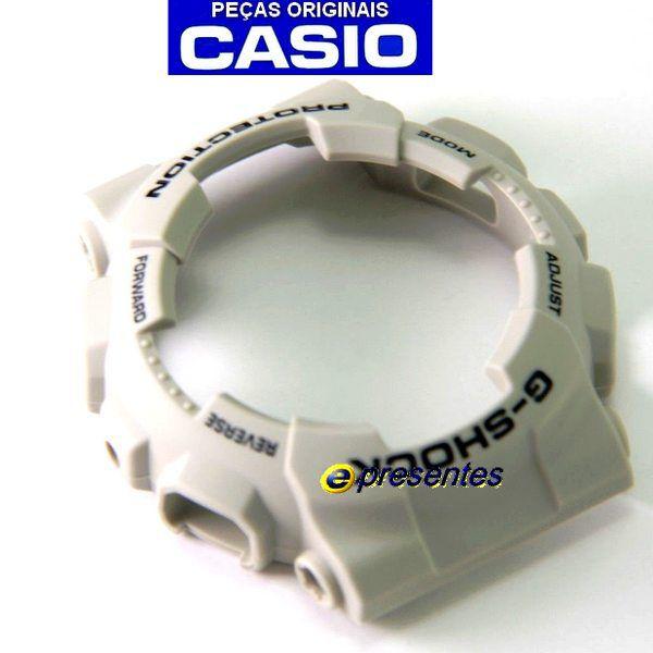 Bezel Ga-100SD-8A Casio G-shock Resina BEGE  - E-Presentes