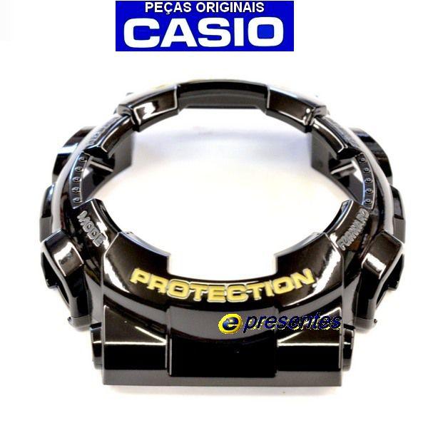 Bezel GA-110GB-1A / GD-100GB Casio G-shock Preto Brilhante Verniz    - E-Presentes