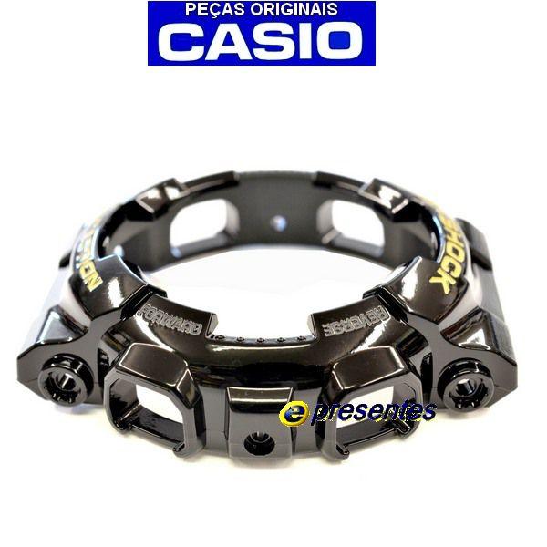 Bezel GA-110GB-1A / GD-100GB Casio G-shock Preto Brilhante Verniz  *  - E-Presentes