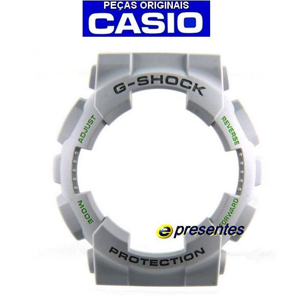 Bezel Ga-110TS-8A3 Casio G-Shock Cinza Claro *  - E-Presentes