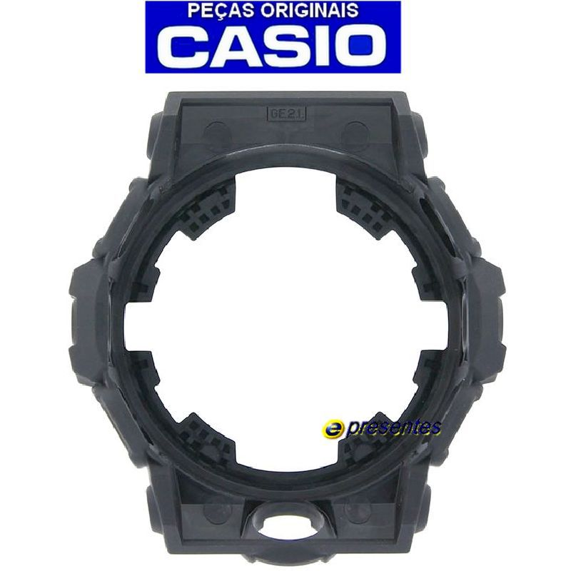 Bezel GA-710-1A2 Casio G-shock Preto Fosco   - E-Presentes