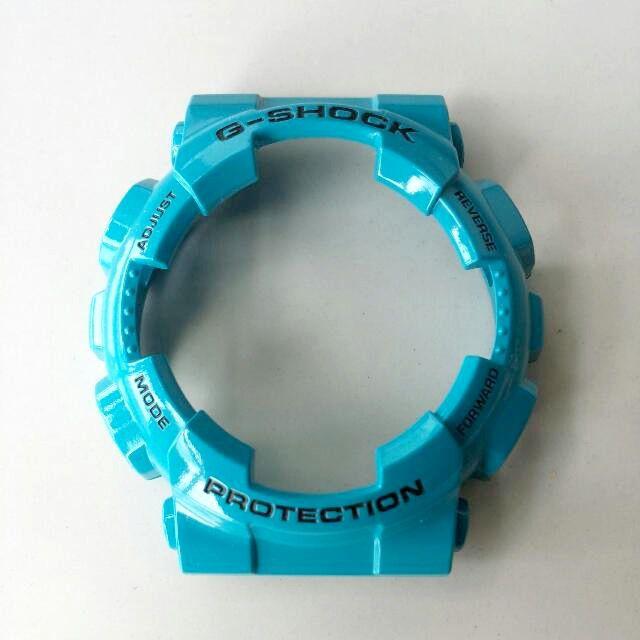 Bezel GD-110-2DR Casio G-Shock Azul Claro - Peça Original  - E-Presentes