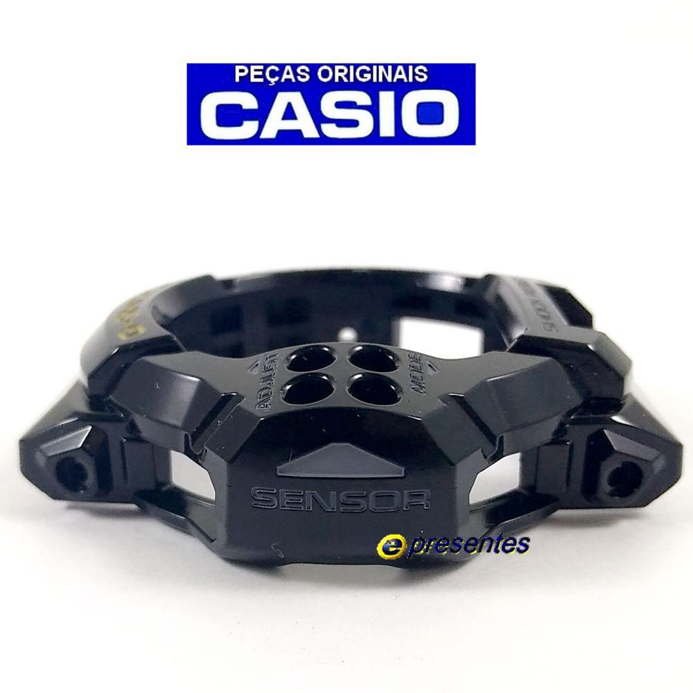 Bezel GDF-100GB-1 Preto Brilhante - 100% Original Casio G-shock*  - E-Presentes