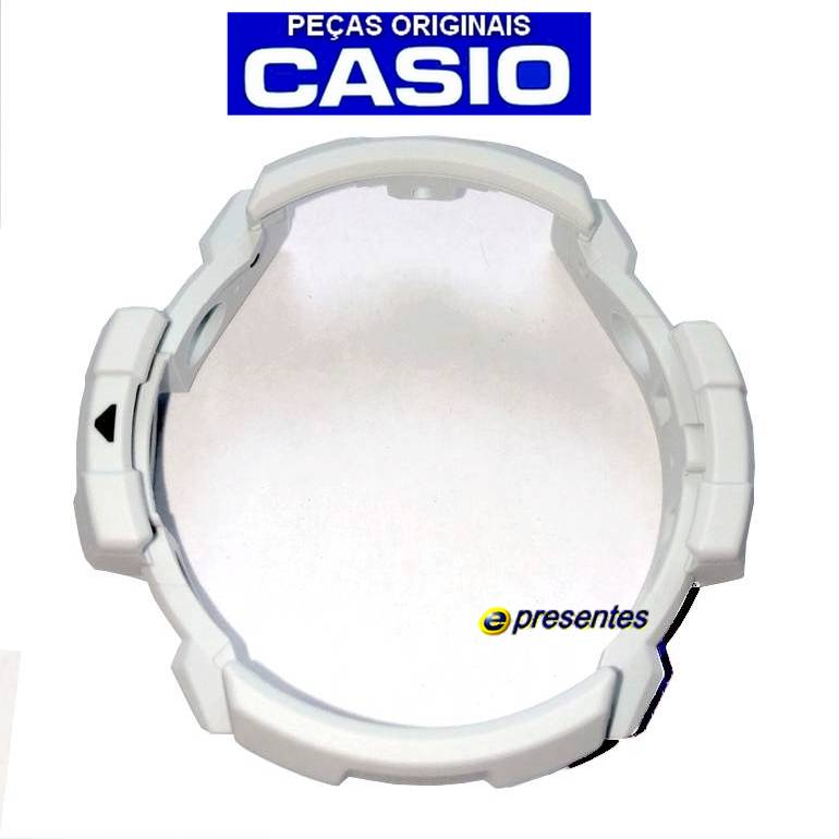 Bezel GN-1000c-8a Casio G-shock Resina Cinza Claro*  - E-Presentes