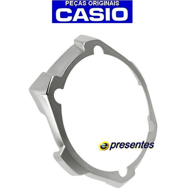 Bezel Inferior Metalico Casio Aqw-101 - Peça 100% Original *  - E-Presentes