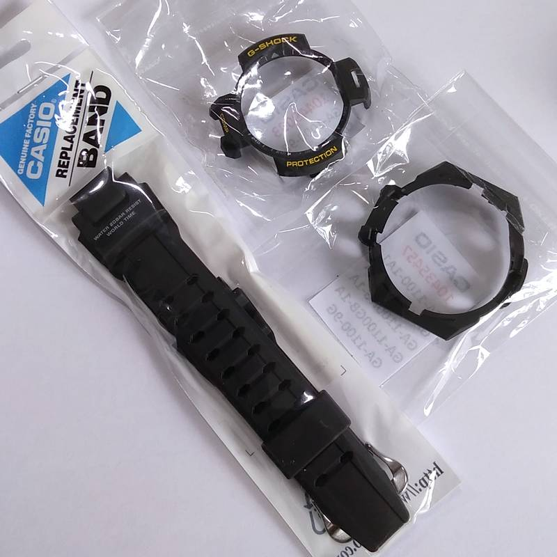 Bezel Interno + Bezel Externo + Pulseira Casio G-Shock GA-1000  - E-Presentes