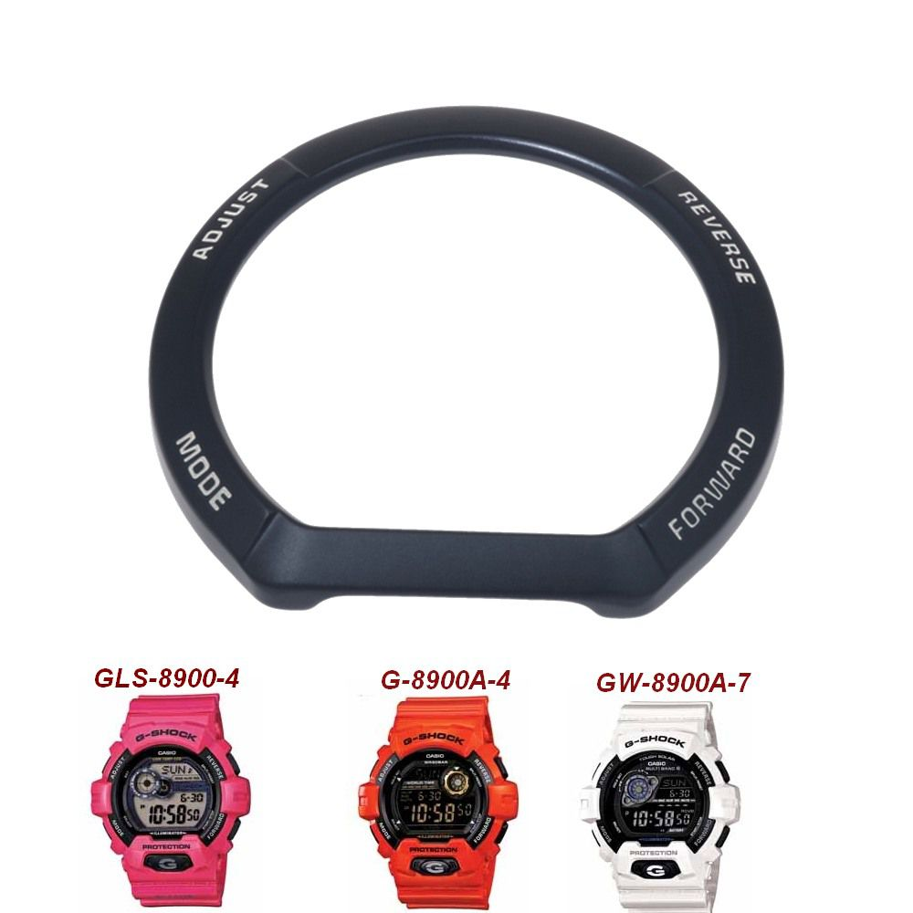 Bezel Interno (metal)  GLS-8900-4 G-8900A-4 GW-8900A-7 GR-8900A-7  Peça 100% Original   - E-Presentes